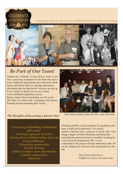 Sneak peek at our first intern newsletter!