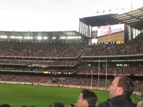 Anzac Day at the Melbourne Cricket Ground